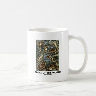 Grodor av världen (Ernst Haeckel) Vit Mugg
