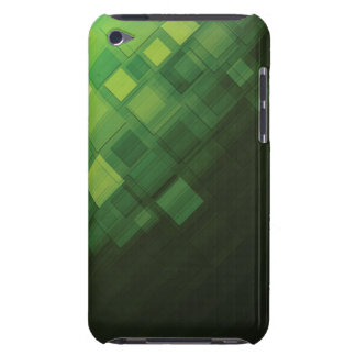 Grön abstrakt teknologidesign iPod Case-Mate skydd