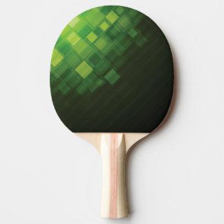 Grön abstrakt teknologidesign pingisracket