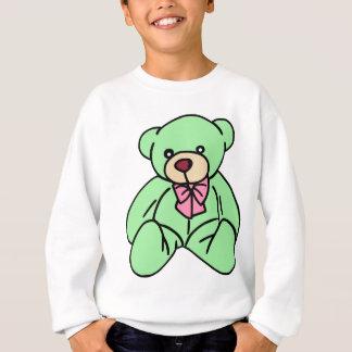 Grön älskvärd nalle tröja
