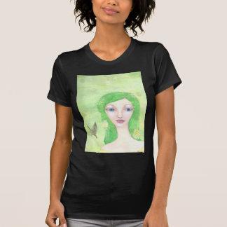 grön ängel 1.jpg tee shirt