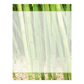 Grön bambu brevhuvud