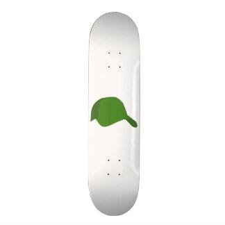 Grön baseballmössa old school skateboard bräda 21,6 cm