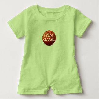 Grön bebisromper, stor basket, I-harlek Tee Shirts