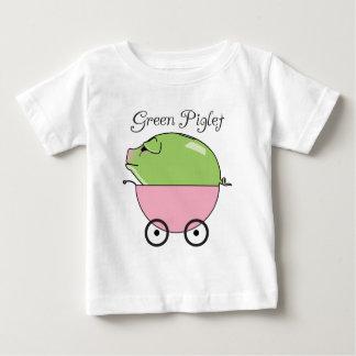 Grön begynna T-tröja för Piglet (rosa) T Shirt