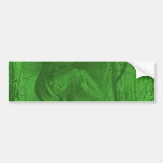 Grön bildekal för reflexioner II