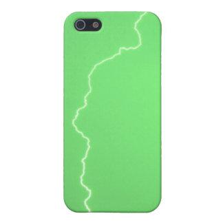 Grön blixt 2 4/4s iPhone 5 fodraler