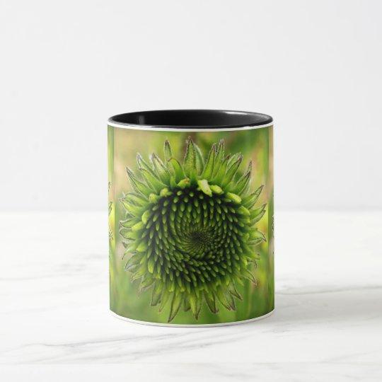 Grön blomma