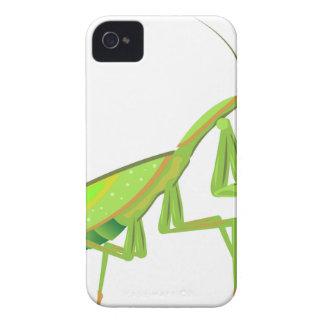 Grön bönsyrsavektor Case-Mate iPhone 4 fodral