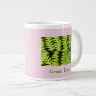Grön dagkaffemugg - grön Fern 225 Jumbo Mugg