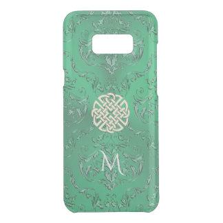 Grön damast för irländare med den guld- Celtic Get Uncommon Samsung Galaxy S8 Plus