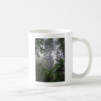 grön djungel kaffemugg