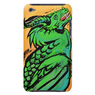 Grön drakeipod fodral Case-Mate iPod touch skydd