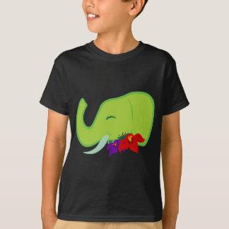 Grön elefant tröjor