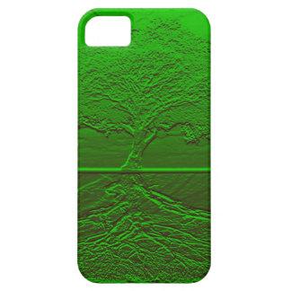 Grön energi för livets träd iPhone 5 Case-Mate skydd