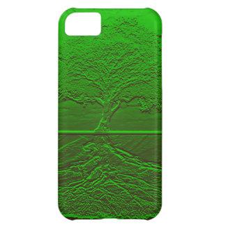 Grön energi för livets träd iPhone 5C mobil skal
