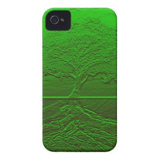 Grön energi för livets träd iPhone 4 Case-Mate case