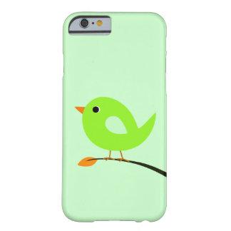 Grön fågel på gren barely there iPhone 6 skal