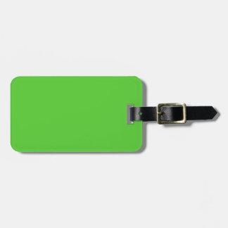 Grön fast färg för limefrukt bagagebricka
