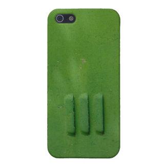 Grön fena iPhone 5 skal