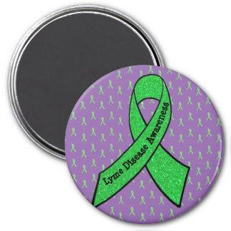 Grön för medvetenhet sjukdom magnet för lilor &