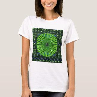 GRÖN förorening NVN713 för dräkttemamiljö Tee Shirt
