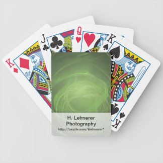 Grön Fractal Spelkort