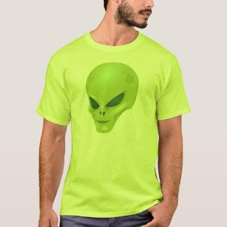Grön främmande Head T-tröja Tröja