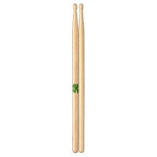 Grön fyrklöver Shamrock Trumpinnar