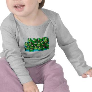 Grön gel t shirts