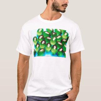 Grön gel tröjor