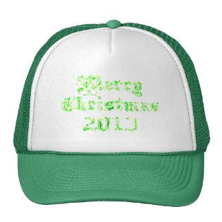 Grön glittergod jul 2013 keps