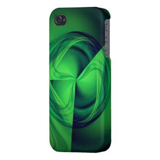 Grön gloriaenergiiphone case iPhone 4 cover
