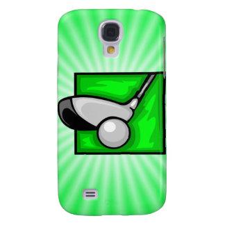 Grön Golf för neon Galaxy S4 Fodral