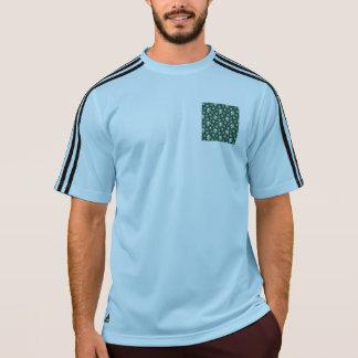 Grön Goth för irländare döskallar T-shirt