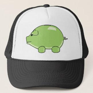 Grön grishatt keps