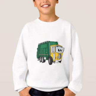 Grön guld- le soporlastbiltecknad tee shirts