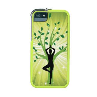 Grön härlig chi för energi för chakra för iPhone 5/5C mobil fodral