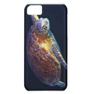 Grön havssköldpadda - fodral för iPhone 5 iPhone 5C Fodral