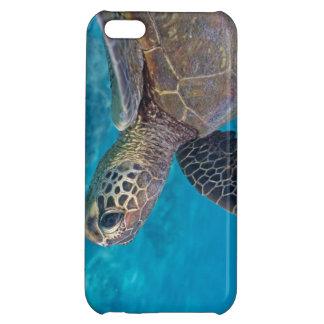 Grön havssköldpadda iPhone 5C mobil skydd