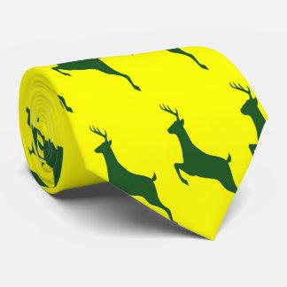 Grön hjortslips slips
