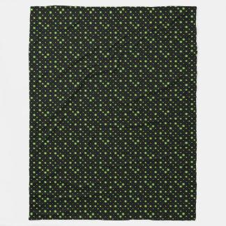 Grön jul för Starry natt Fleecefilt