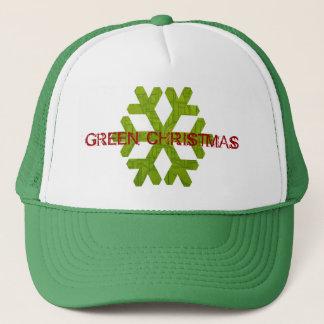 Grön julhatt! keps