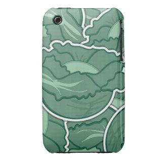 Grön kål för funky Case-Mate iPhone 3 skydd