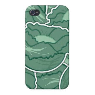 Grön kål för funky iPhone 4 cover