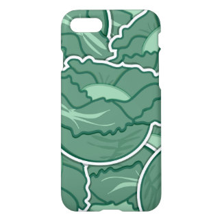 Grön kål för funky iPhone 7 skal
