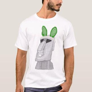Grön kanin för påsk (ön) tee shirt