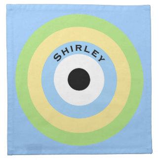 Grön kombinationsBullseye av Shirley Taylor Tygservett