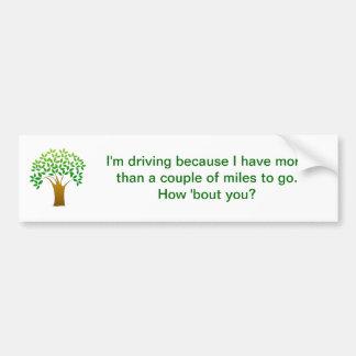 grön körande miljö bildekal