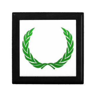 Grön lagrarkran minnesask